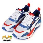 PUMA X-Ray 2 Square Jr 鞋帶 大童 運動鞋 紅藍白 NO.R6671(37419006)