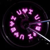 自行車氣嘴燈氣門芯燈山地車風火輪車輪燈騎行警示燈輪胎燈配件 英雄聯盟