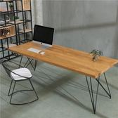 實木電腦桌簡約現代台式電腦桌椅組合新款家用辦公寫字台書桌  YTL