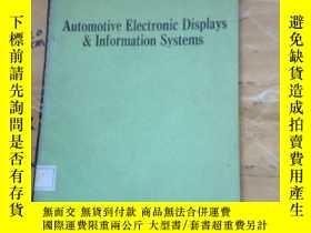 二手書博民逛書店Automotive罕見Electronic Displays