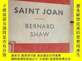 二手書博民逛書店Saint罕見Joan: A Chronicle Play in Six Scenes and an Epilog