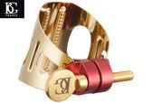 小叮噹的店- 中音薩克斯風束圈 法國BG LD1 24K金 (ALTO SAX 豎笛適用) 附原廠吹嘴蓋 法國製