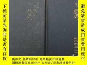 二手書博民逛書店【WESTERN罕見CIVILIZATION ITS GENESIS AND DESTINY(VOLUME ONE