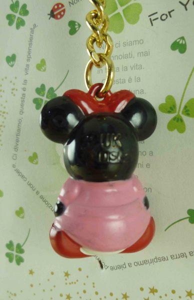 【震撼精品百貨】Micky Mouse_米奇/米妮 ~鑰匙圈-米妮鈴鐺