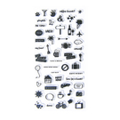 【BlueCat】花花世界 花鳥草透明矽膠印章