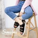 魔鬼氈設計可自由調整鬆緊度 輕量防滑鞋底,安全好穿無負擔 踝帶為可拆式,拖鞋涼鞋隨你變換
