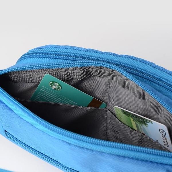 運動腰包 跑步腰包男女多功能運動手機包健身裝備7寸大容量實用耐磨防潑水