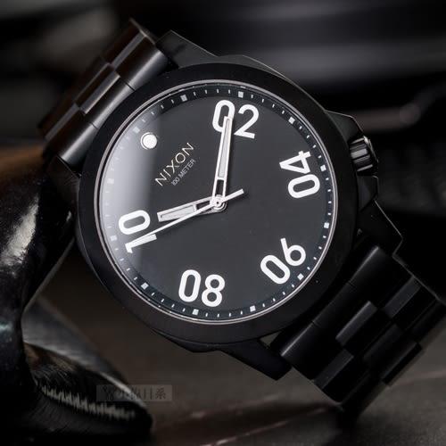 NIXON THE RANGER 45 威風軍人簡約腕錶 A521-001 熱賣中!