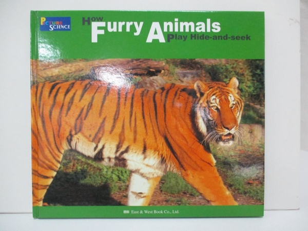 【書寶二手書T1/少年童書_D9U】HOW FURRY ANIMALS PLAY HIDE-AND-SEEK-兒童英語科學10_Russell Davies