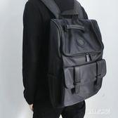 新款防水韓版潮流男士商務休閒雙肩筆電背包  JL2576『miss洛雨』TW