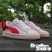 Puma Basket Bow AC inf 粉 桃紅緞帶 小童 (布魯克林) 2018/5月 36732302