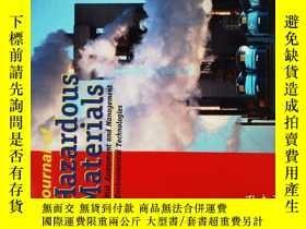 二手書博民逛書店Journal罕見of Hazardous Materials 12 2012 危險材料學學術期刊Y14610