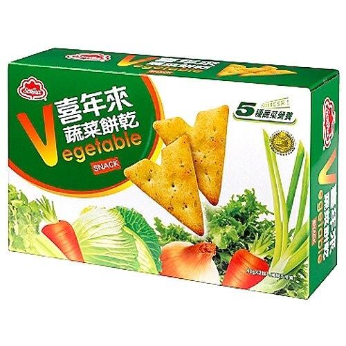 喜年來 大蔬菜餅乾 (40gX2入)/盒 【康鄰超市】