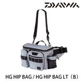 漁拓釣具 DAIWA HG HIP BAG LT[B] [臀包]