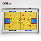 籃球足球戰術板 教練示教板 掛墻式大號鋁合金邊框 配筆磁石板擦 HH952【潘小丫女鞋】
