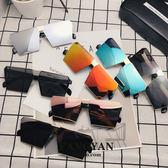 太陽眼鏡 同款方形大方框太陽鏡 主播喊麥裝逼道具眼鏡潮 維科特3C