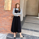 中大尺碼   黑色修身背心裙- 適XL~4L《 79145 》CC-GIRL
