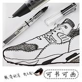 鋼筆 美工筆書法練字彎頭彎尖鋼筆美術繪畫用鋼筆學生速寫線描寫生筆 夢藝家