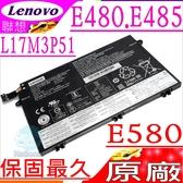 LENOVO E480,E485,E580 ,E585 電池(原廠)-聯想 L17M3P51,L17C3P51,01AV446,01AV447,SB10K97607,SB10K97609