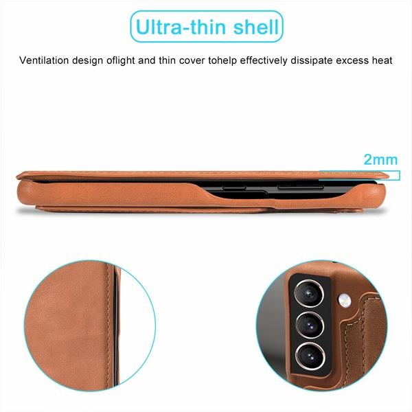三星 S21 S21+ S21 Ultra 鴻古系列 手機皮套 掀蓋殼 插卡 支架 皮質 皮套 保護套