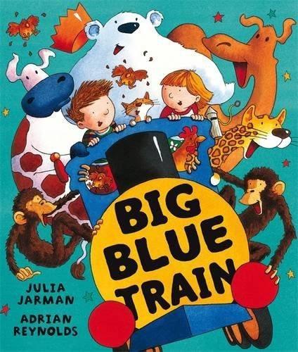 BIG BLUE TRAIN / 英文繪本《主題: 想像.分享.冒險》