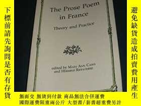 二手書博民逛書店The罕見Prose Poem In FranceY364682 不祥 Columbia University