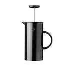 丹麥 Stelton EM Press Coffee Maker 1.0L 啄木鳥 咖啡濾壓壺(亮面黑)