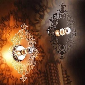 HONEY COMB 質透感華麗壁燈黑色 TA4315D