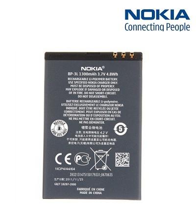 【YUI】NOKIA BP-3L BP3L 原廠電池 NK Lumia 610 Lumia 510 Lumia 710 原廠電池 1300mAh