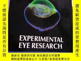 二手書博民逛書店Experimental罕見Eye Research Volum