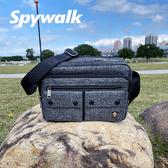 SPYWALK  素色簡約方形袋側包 NO:1611