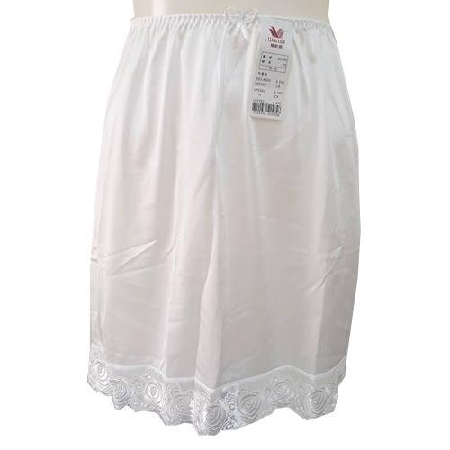 【華歌爾】優維蕾絲襯裙M-LL(白)
