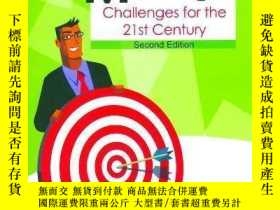 二手書博民逛書店The罕見New Sales Manager: Challenges For The 21st Century-新