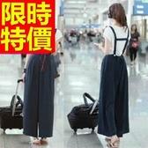 闊腿褲-修飾身型復古亮麗女長褲61f1【巴黎精品】