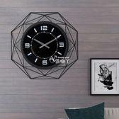 掛鐘 時尚創意潮流掛鐘客廳現代簡約鐘錶藝術時鐘個性掛錶家用大氣裝飾igo 俏腳丫