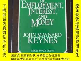 二手書博民逛書店The罕見general theory of employment interest and money(就業利息