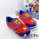 【樂樂童鞋】【台灣製現貨】POLI羅伊造型閃燈運動鞋 P012 - 現貨 台灣製 男童鞋 運動鞋 小童鞋