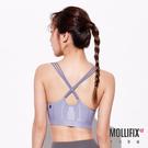 Mollifix 瑪莉菲絲 A++ 微光三弦美背浮托BRA (岩灰藍)