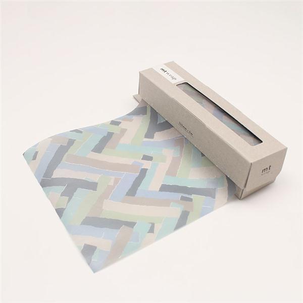 mt WRAP(迷你尺寸) mina perhonen prism・pale mix mt和紙自黏包