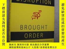 二手書博民逛書店How罕見disruption brought order:th
