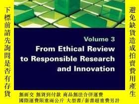 二手書博民逛書店From罕見Ethical Review to Responsible Research and Innovati