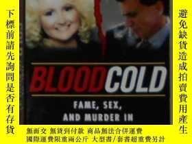 二手書博民逛書店英文原版罕見Blood Cold by Dennis McDou