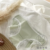 少女性感蕾絲花邊內褲純棉襠生理褲透氣日系舒適學生底褲【貼身日記】