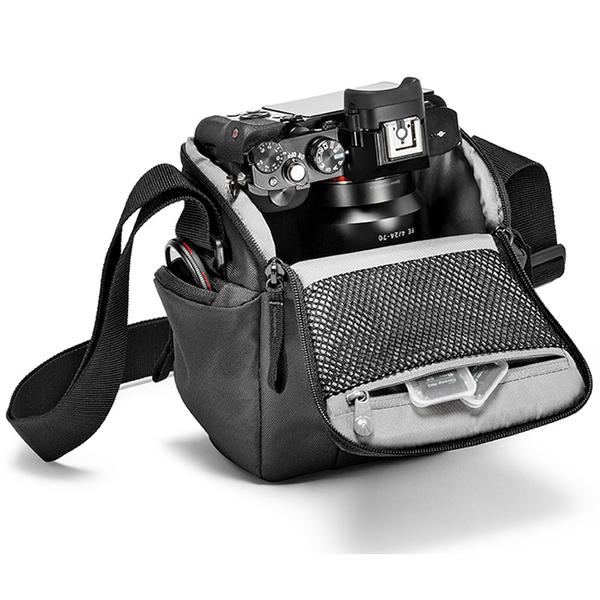 ◎相機專家◎ Manfrotto Holster CSC 開拓者微單眼槍套包 深藍色 MB NX-H-IBU 相機包 正成公司貨