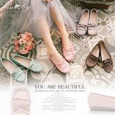 鞋子 MIT台灣製蝴蝶結莫卡辛平底鞋-Ruby s 露比午茶