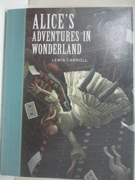 【書寶二手書T1/少年童書_IE7】Alice's Adventures in Wonderland_Carroll, Lewis