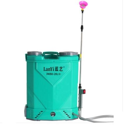 農用高壓鋰電池背負式智慧噴灑充電農藥噴壺新式打藥機電動噴霧器 1995生活雜貨