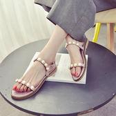 【優選】女涼鞋子夏新款時尚王嘉爾同款正韓學生快手