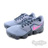 Nike Air Vapormax GS 灰 粉紅 大氣墊 大童 女生 GD款 917962-401【Speedkobe】