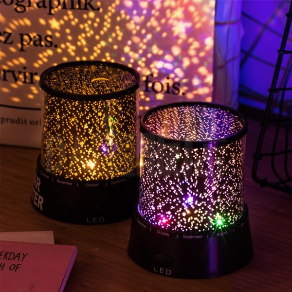星空燈 小夜燈 投射燈 投影燈 投影機 星空達人 情人節 禮物 布置 浪漫 氣氛燈 LED 七彩